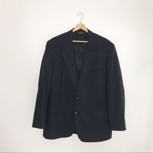 Brooks Brothers Vintage Gray Wool Blazer Jacket 45